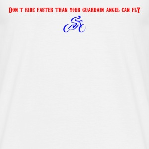 Guardian Angel Bike - Men's T-Shirt