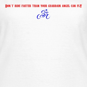 Guardian Angel Bike - Women's T-Shirt