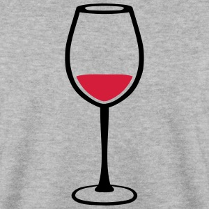 Glass of red wine 123 Hoodies & Sweatshirts - Men's Sweatshirt