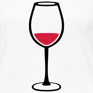 Glass of red wine 123 Long Sleeve Shirts - Women's Premium Longsleeve Shirt
