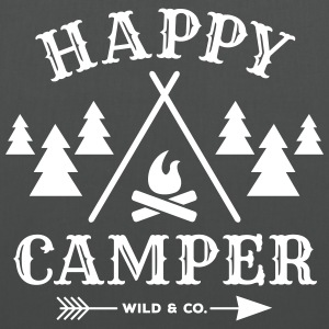 HappyCamper wide Bags & Backpacks - Tote Bag