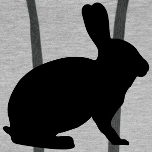 bunny, rabbit Hoodies & Sweatshirts - Men's Premium Hoodie