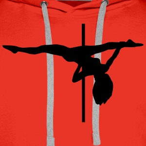 Pole dance, pole dancing Hoodies & Sweatshirts - Men's Premium Hoodie