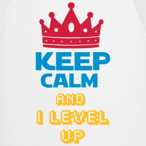 KEEP CALM AND  I LEVEL UP Tabliers - Tablier de cuisine