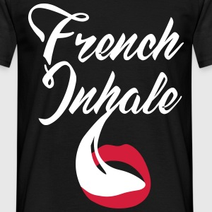 French Inhale T-Shirts - Männer T-Shirt