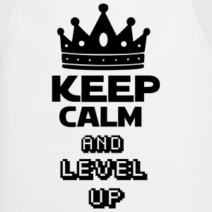 KEEP CALM AND  LEVEL UP Tabliers - Tablier de cuisine