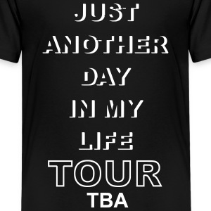 life tour TBA - Teenage Premium T-Shirt
