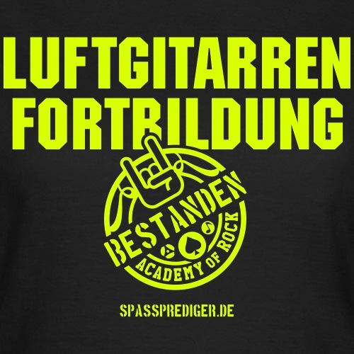 Spassprediger.de presents: Luftgitarre