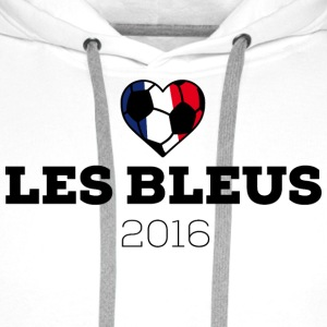 EM 2016 Les bleus France Hoodies & Sweatshirts - Men's Premium Hoodie