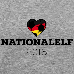 EM 2016 Nationalelf Germany T-shirts - Premium-T-shirt herr