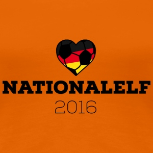 EM 2016 Nationalelf Germany T-Shirts - Women's Premium T-Shirt