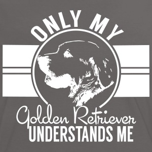 Nur mein Golden Retriever T-Shirts - Frauen Kontrast-T-Shirt