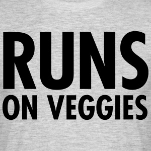 Runs On Veggies T-Shirts - Männer T-Shirt