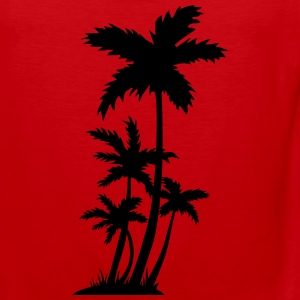palm trees Sports wear - Men's Premium Tank Top