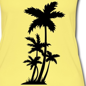 palm trees Toppe - Øko tank top til damer