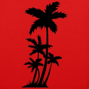 palm trees Bags & Backpacks - EarthPositive Tote Bag