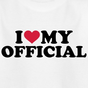 I love my official T-Shirts - Kinder T-Shirt