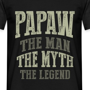 Papaw. The Man. T-shirt Gift! - Men's T-Shirt