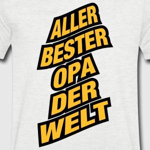 suchbegriff 39 bester opa der welt 39 t shirts online bestellen spreadshirt. Black Bedroom Furniture Sets. Home Design Ideas