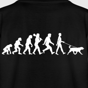 Evolution with dog Shirts - Teenager T-shirt
