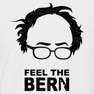 FEEL THE BERN T-Shirts - Männer Baseball-T-Shirt