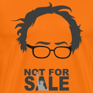 BERNIE NOT FOR SALE BW T-Shirts - Männer Premium T-Shirt