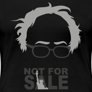 BERNIE NOT FOR SALE T-Shirts - Frauen Premium T-Shirt