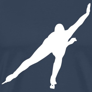 Speed ​​Skating T-Shirts - Men's Premium T-Shirt