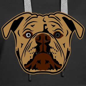 Bulldog Sweat-shirts - Sweat-shirt à capuche Premium pour femmes