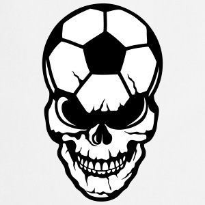 football soccer skull balloon 8  Aprons - Cooking Apron