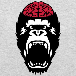 gorilla brain open mouth Hoodies & Sweatshirts - Unisex Hoodie