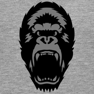 gorilla open mouth 1603 Long sleeve shirts - Men's Premium Longsleeve Shirt