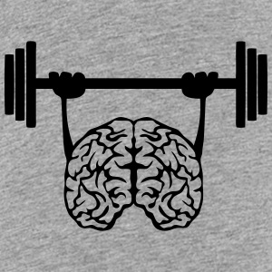 Brain bar Bodybuilding Shirts - Kids' Premium T-Shirt