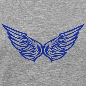 Wing pair 1503 T-Shirts - Men's Premium T-Shirt