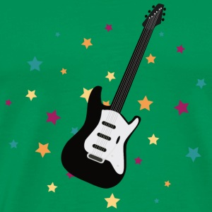 rock guitar T-Shirts - Men's Premium T-Shirt