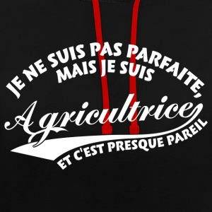 Parfaite Agricultrice Sweat-shirts - Sweat-shirt contraste