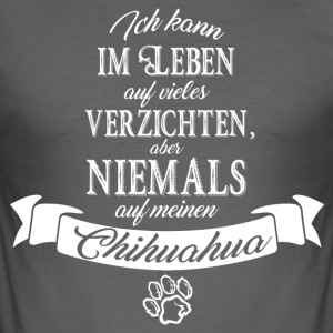 chihuahua T-Shirts - Männer Slim Fit T-Shirt