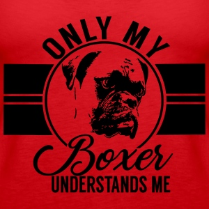 Only my Boxer Tops - Women's Premium Tank Top
