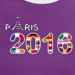 Paris 2016 - Frauen Kontrast-T-Shirt