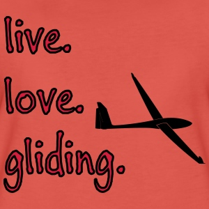 livelovegliding T-Shirts - Frauen Premium T-Shirt