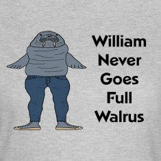 William the Walrus Women's T-shirt