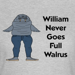 William the Walrus Women's T-shirt   - Women's T-Shirt