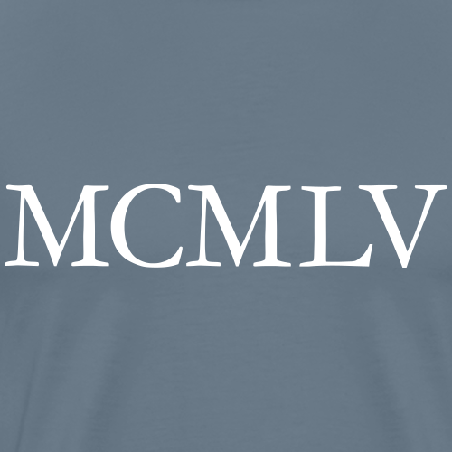 MCMLV 1955 Geburtstag Römisch