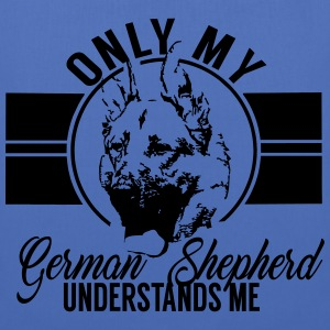 Only my German Shepherd Bags & Backpacks - Tote Bag