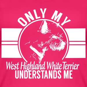 Only my West Highland White Terrier Tops - Women's Organic Tank Top