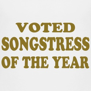 Voted songstress of the year Shirts - Kids' Premium T-Shirt
