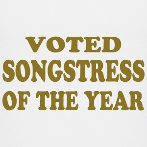 Voted songstress of the year Shirts - Teenage Premium T-Shirt