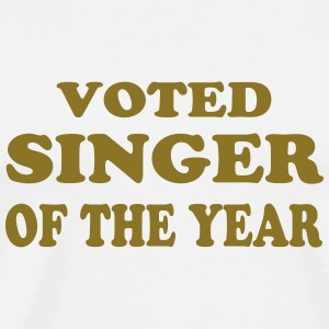 Voted singer of the year T-Shirts - Men's Premium T-Shirt