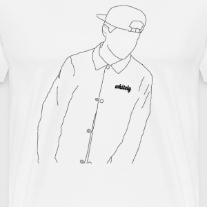 whitely Junge-The Boy - Männer Premium T-Shirt