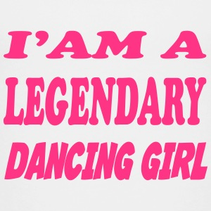 I'am a legendary dancing girl Shirts - Teenage Premium T-Shirt